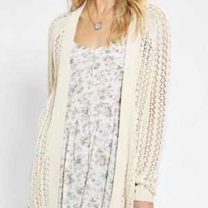 Urban outfitters open knit cardigan